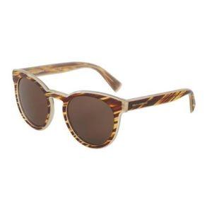 Dolce & Gabbana Sunglasses - Striped Honey Color